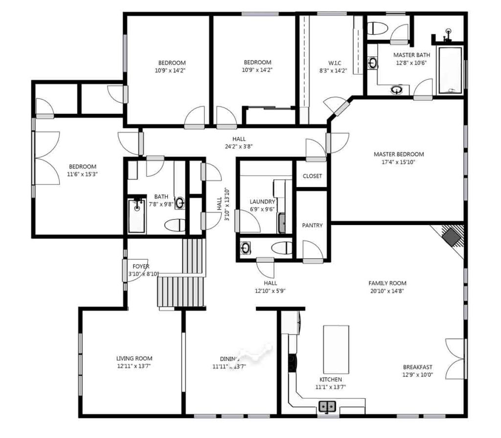 schematic floor plans